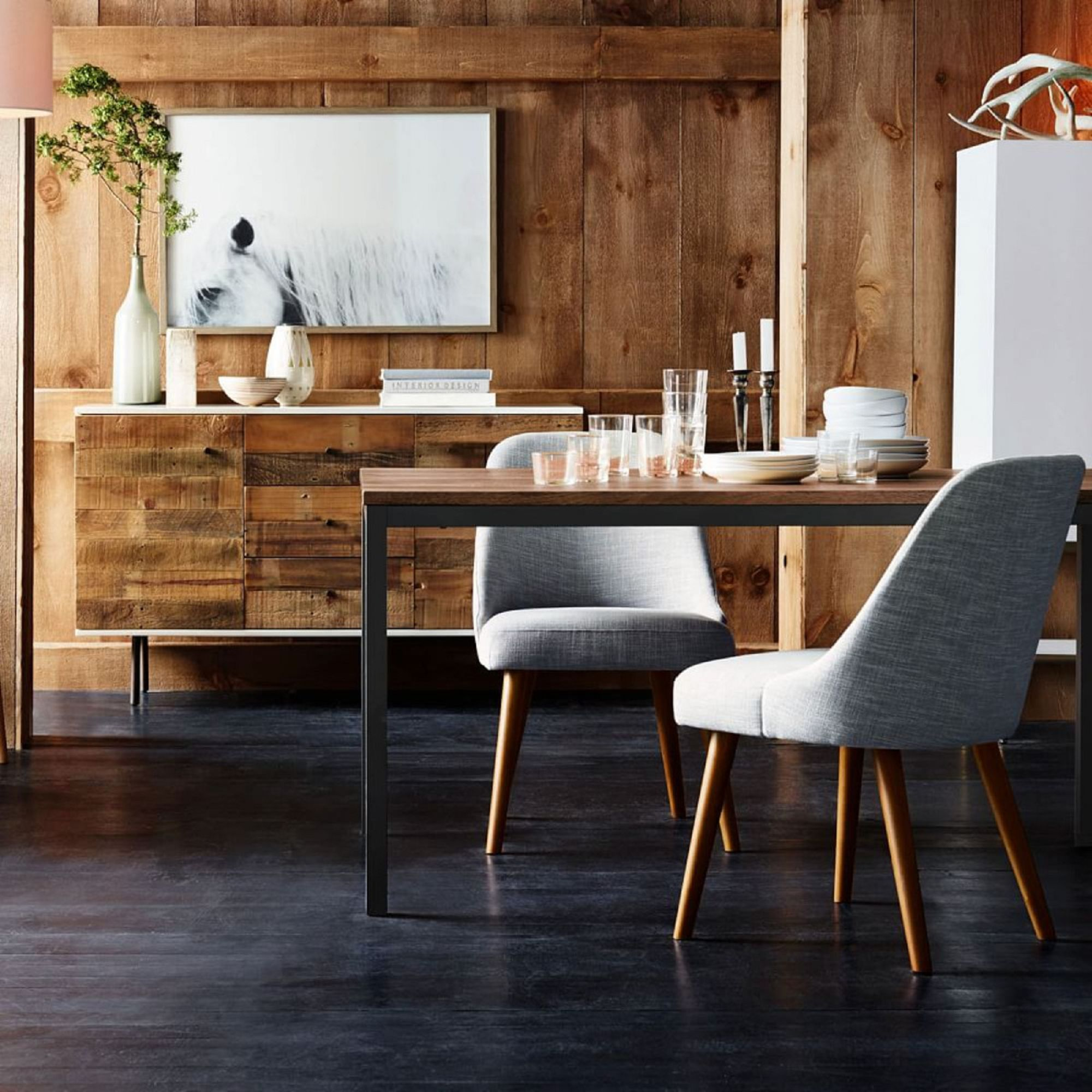 West Elm Mid Century Office Chair At John Lewis Partners