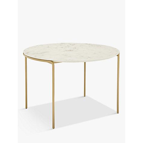 Buy john lewis esempio round coffee table john lewis for Coffee tables john lewis