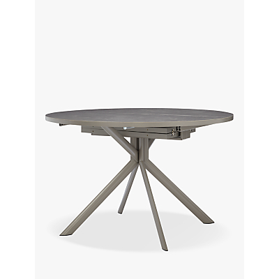 Connubia by Calligaris Giove Ceramic 4-6 Seater Extending Dining Table