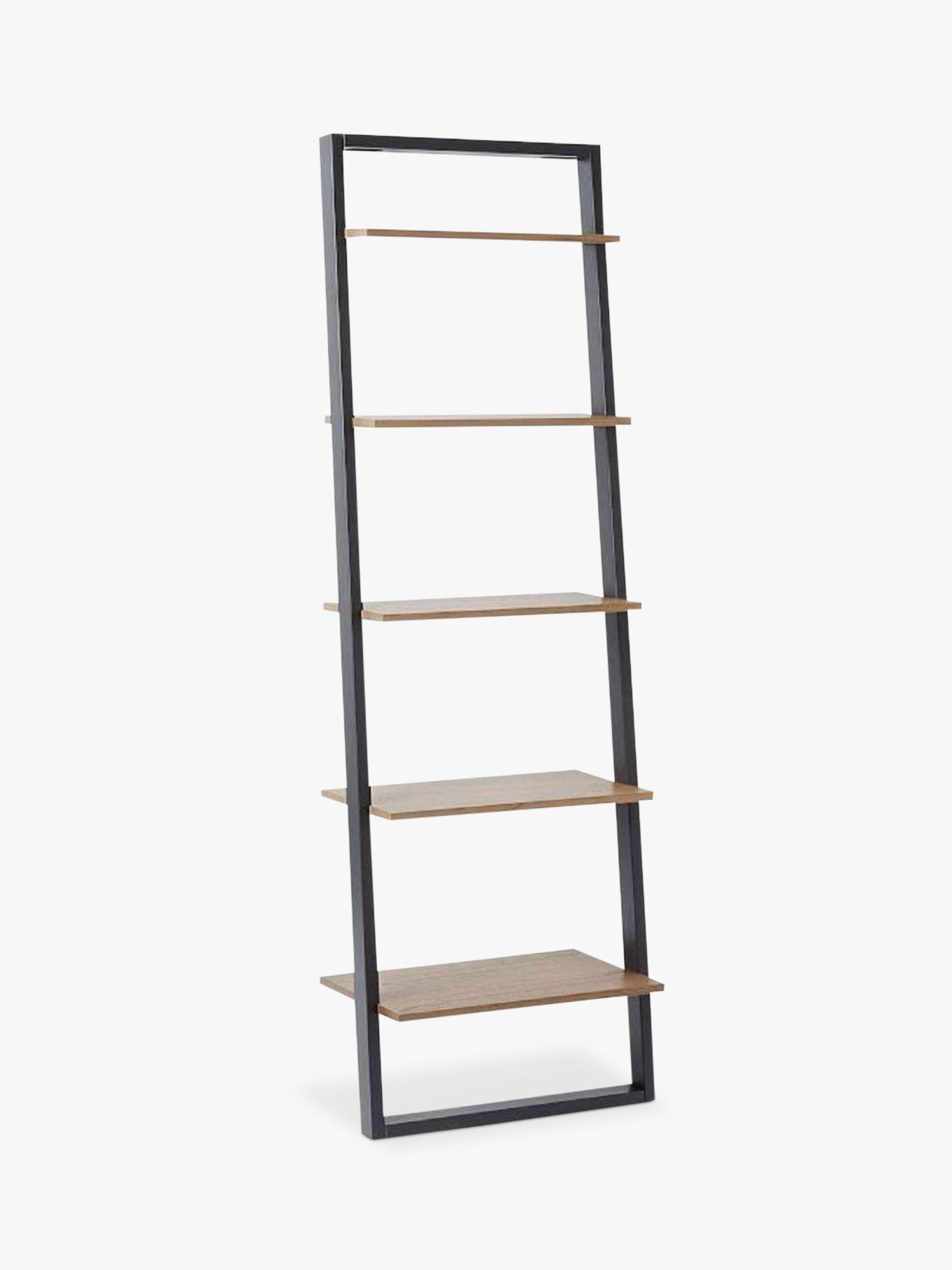 West Elm Wide Ladder Shelving Unit Sandstone Shale At John Lewis Partners