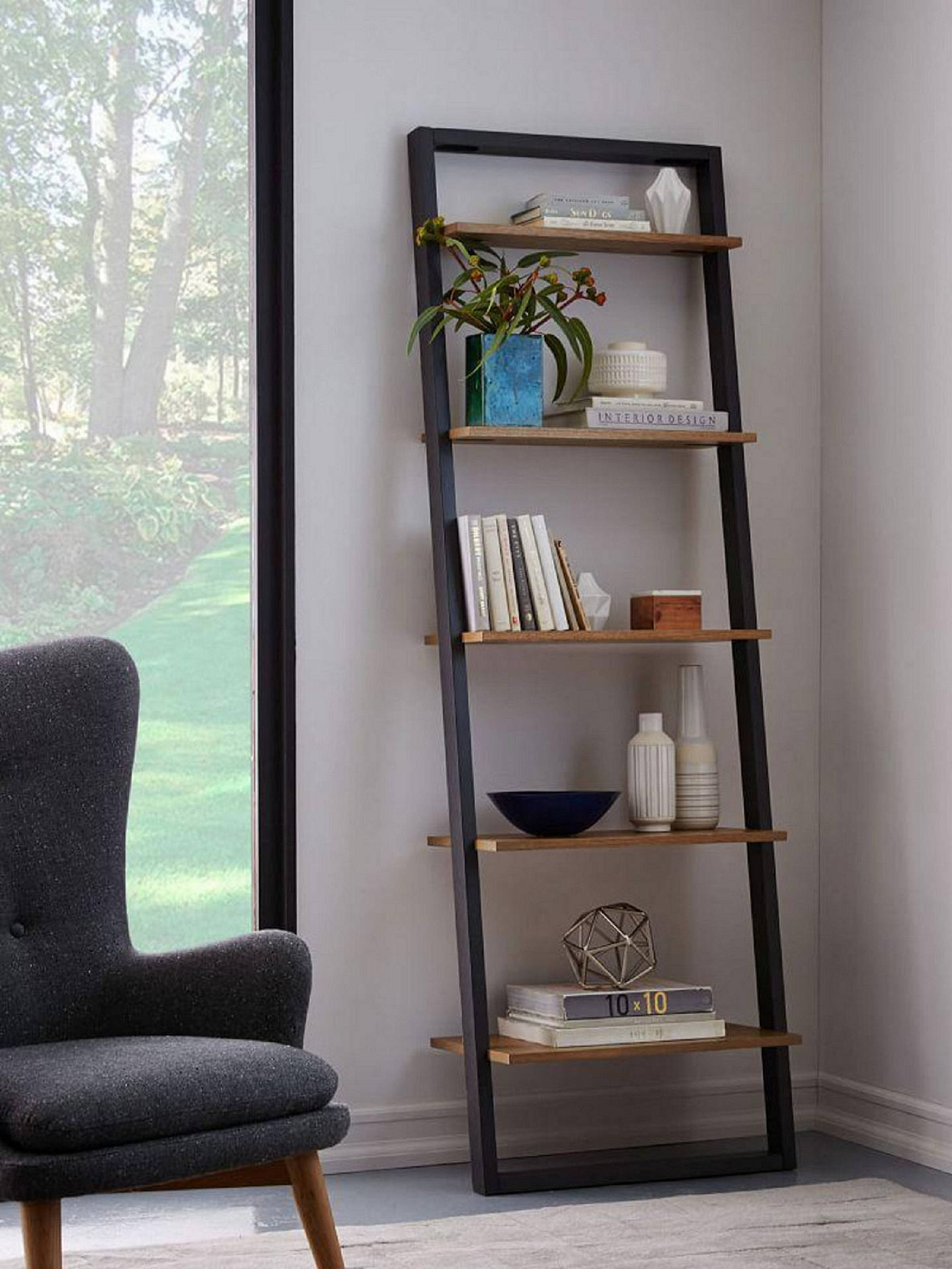 Looking To Purchase This Unit: West Elm Wide Ladder Shelving Unit, Sandstone/Shale At