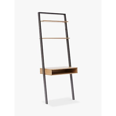 west elm Ladder Shelf Storage Desk