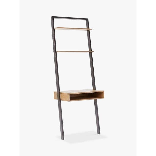 West Elm Ladder Shelf Storage Desk At John Lewis