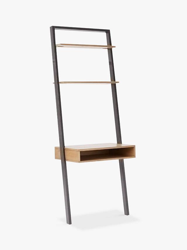 West Elm Ladder Shelf Storage Desk, Ladder Shelf Storage Desk