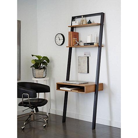 Buy West Elm Ladder Shelf Storage Desk John Lewis