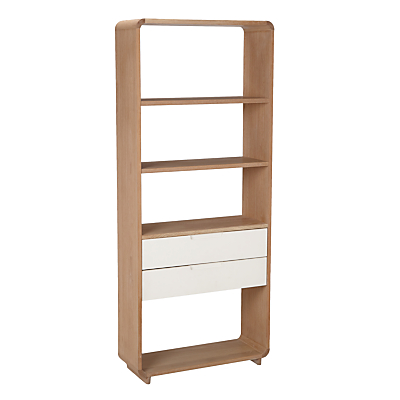 Ebbe Gehl for John Lewis Mira 2 Drawer Bookcase, Wide