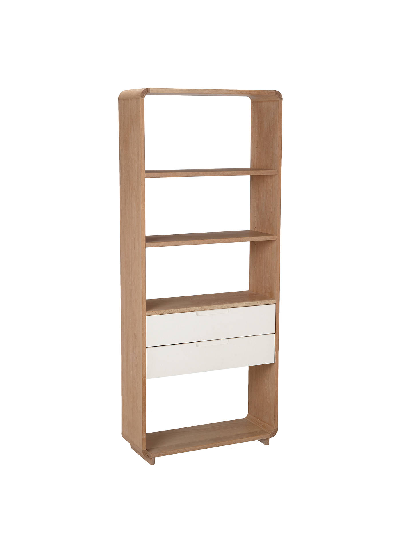 Buy Ebbe Gehl for John Lewis Mira 2 Drawer Bookcase, Wide Online at johnlewis.com