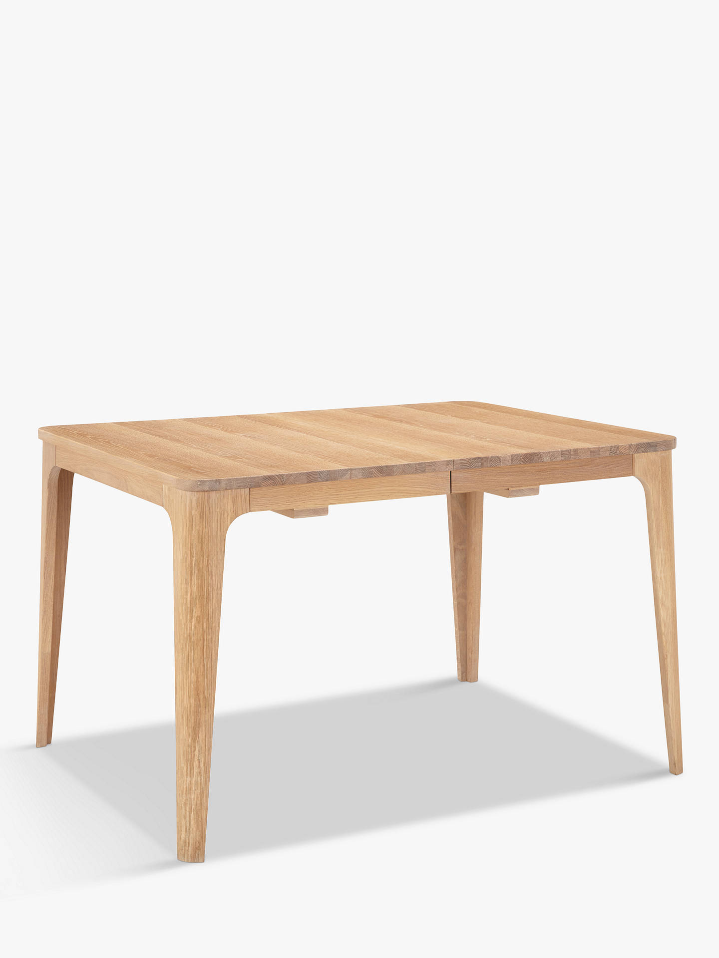 Buy Ebbe Gehl for John Lewis Mira 4-8 Seater Extending Dining Table, Natural Online at johnlewis.com