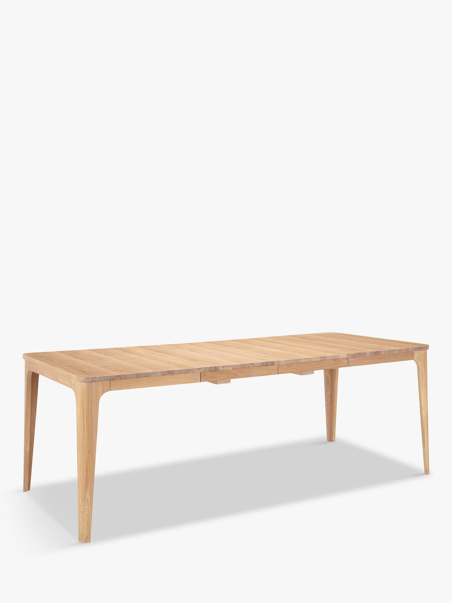 BuyEbbe Gehl for John Lewis Mira 4-8 Seater Extending Dining Table Online at johnlewis.com