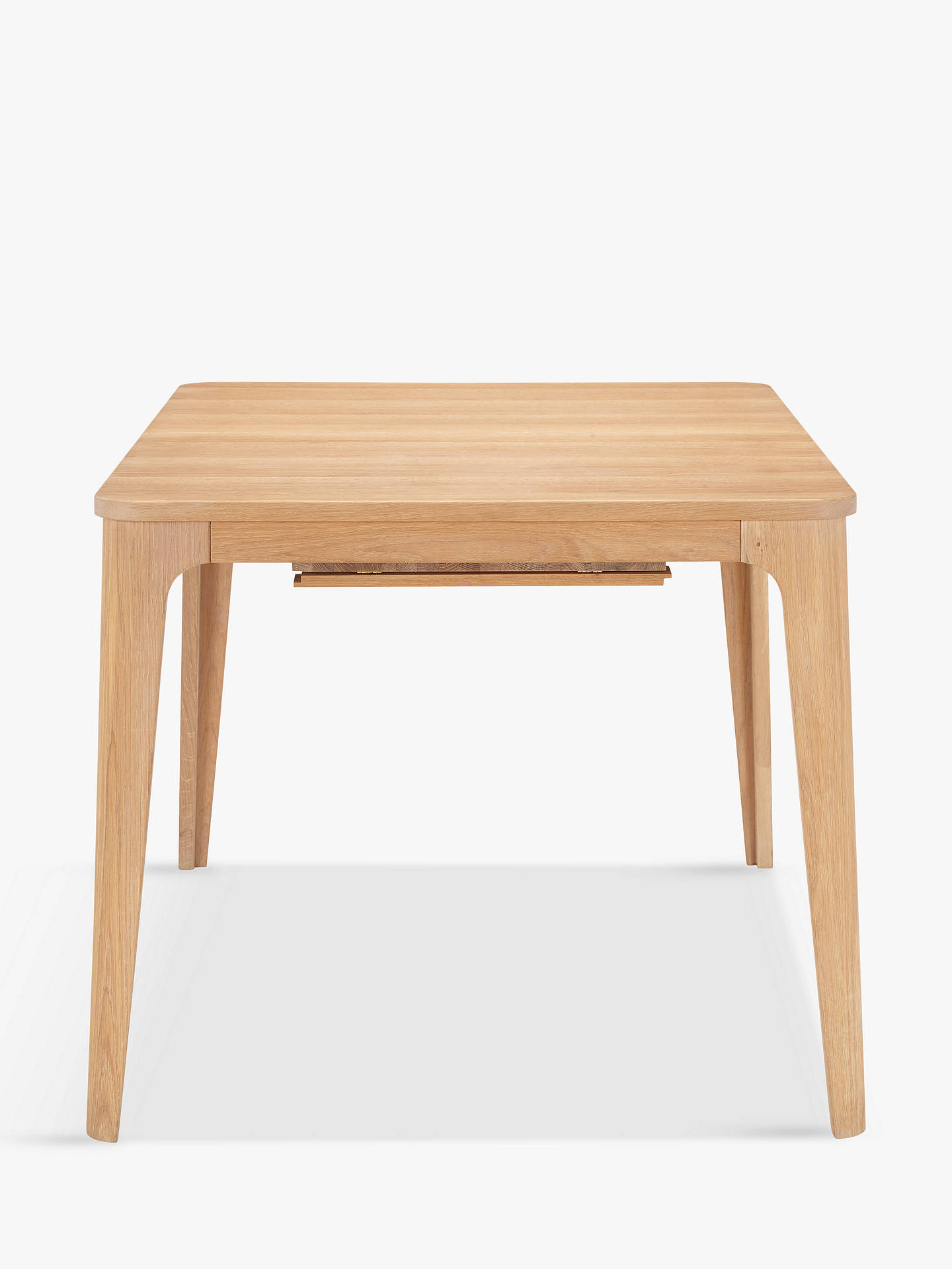 Ebbe Gehl For John Lewis Mira 4 8 Seater Extending Dining Table Natural At John Lewis Partners