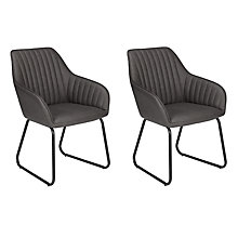 Buy John Lewis Brooks Dining Arm Chairs, Set of 2 Online at johnlewis.com