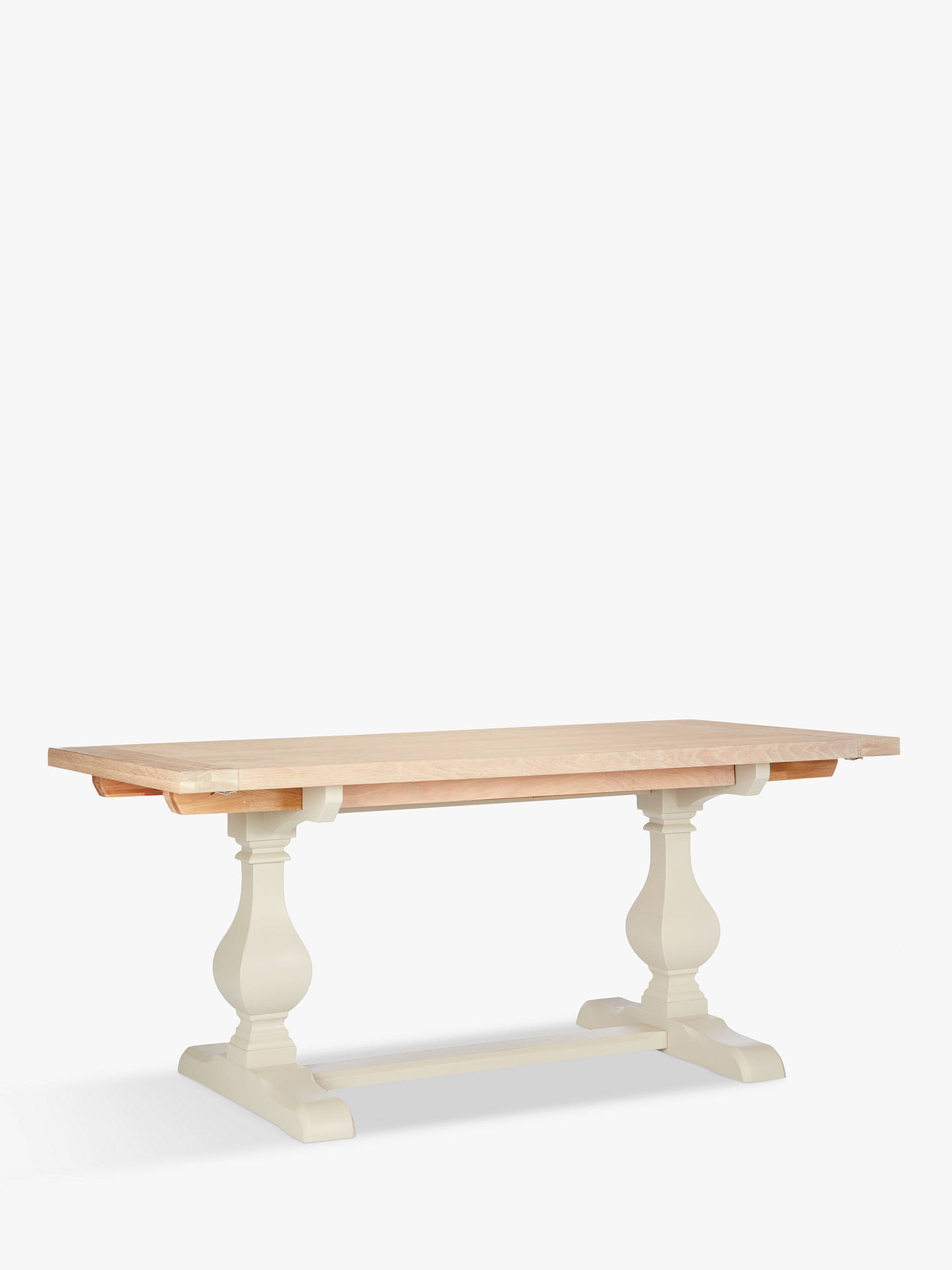 john lewis partners wickham 6 8 seater extending dining. Black Bedroom Furniture Sets. Home Design Ideas