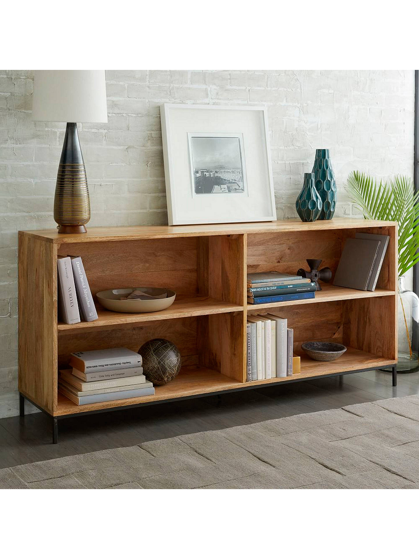 Buywest elm Industrial Modular Bookcase Online at johnlewis.com