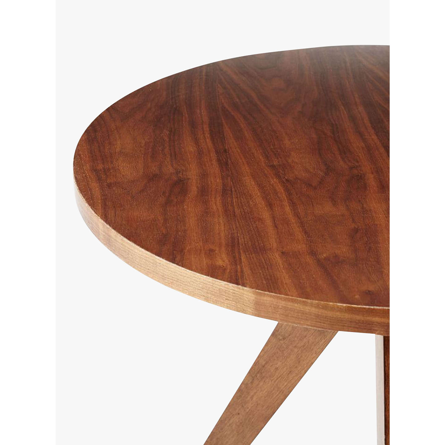 West elm tripod round 2 seater dining table at john lewis for 2 seater dining table