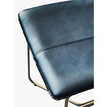 Buy west elm Slope Leather Dining Chair Online at johnlewis.com