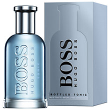 Buy HUGO BOSS BOSS Bottled Tonic Eau de Toilette Online at johnlewis.com