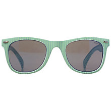 Buy Fat Face Children's Elodie Sunglasses, Aqua Sky Online at johnlewis.com