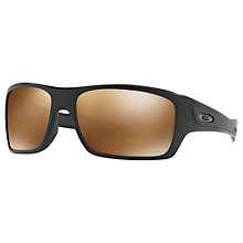 Buy Oakley OO9263 Turbine Prizm Polarised Sunglasses Online at johnlewis.com