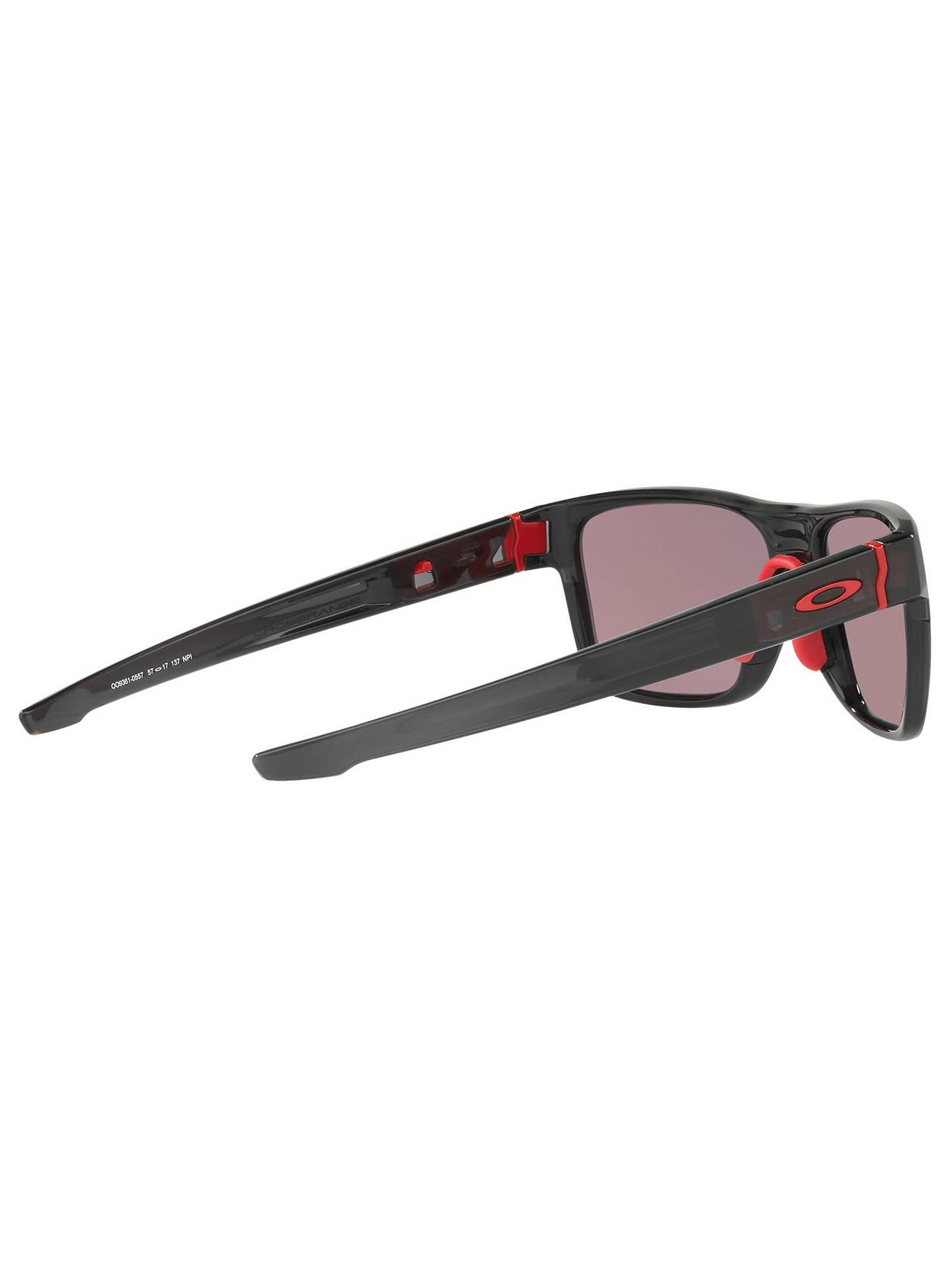 9de597cad62 Oakley OO9361 Crossrange Prizm Polarised Square Sunglasses at John ...