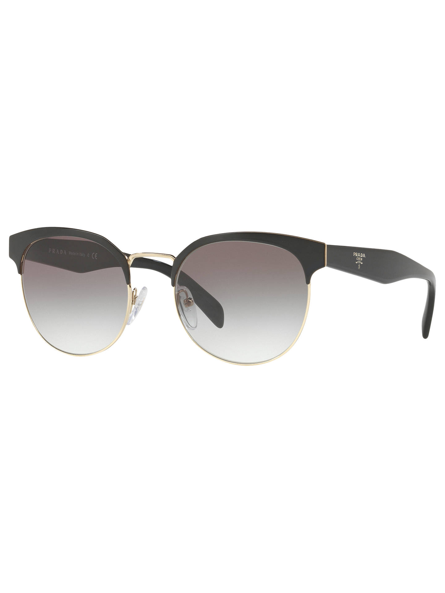 17c9a3b05ec91 Prada PR 61TS Oval Sunglasses at John Lewis   Partners