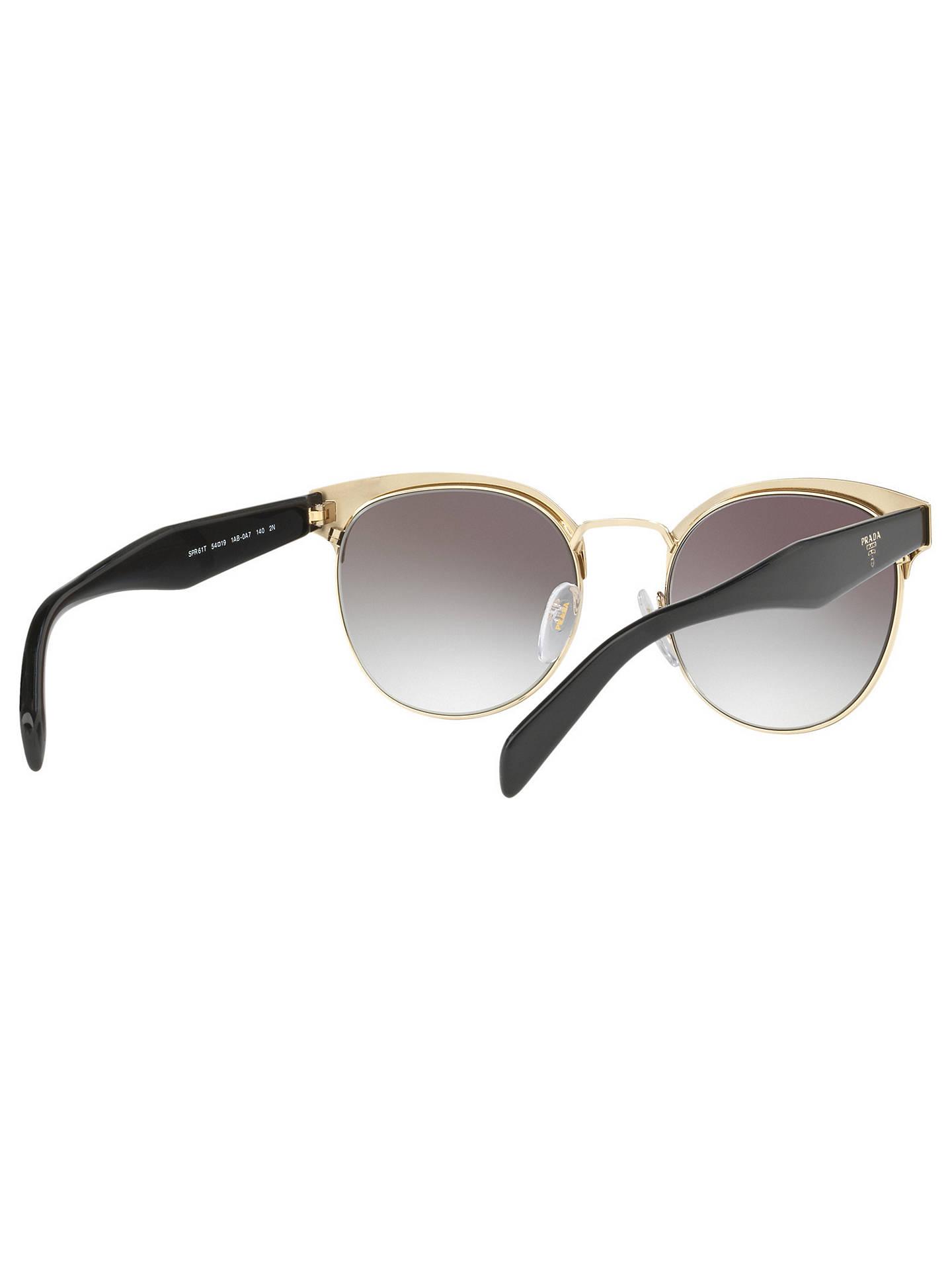 a7d33216c5 Prada PR 61TS Oval Sunglasses at John Lewis   Partners