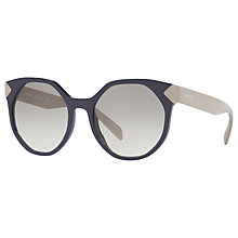Buy Prada PR 11TS Outsize Oval Sunglasses Online at johnlewis.com