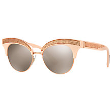 Buy Dolce & Gabbana DG6109 Cat's Eye Sunglasses Online at johnlewis.com