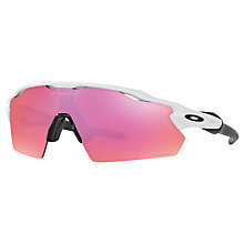 Buy Oakley OO9211 Radar EV Pitch Prizm Trail Rectangular Sunglasses Online at johnlewis.com