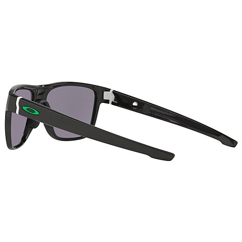 blue and white oakley sunglasses 1kj9  Buy Oakley OO9360 Crossrange Square Sunglasses, Matte Black/Blue Iridium  Online at johnlewis