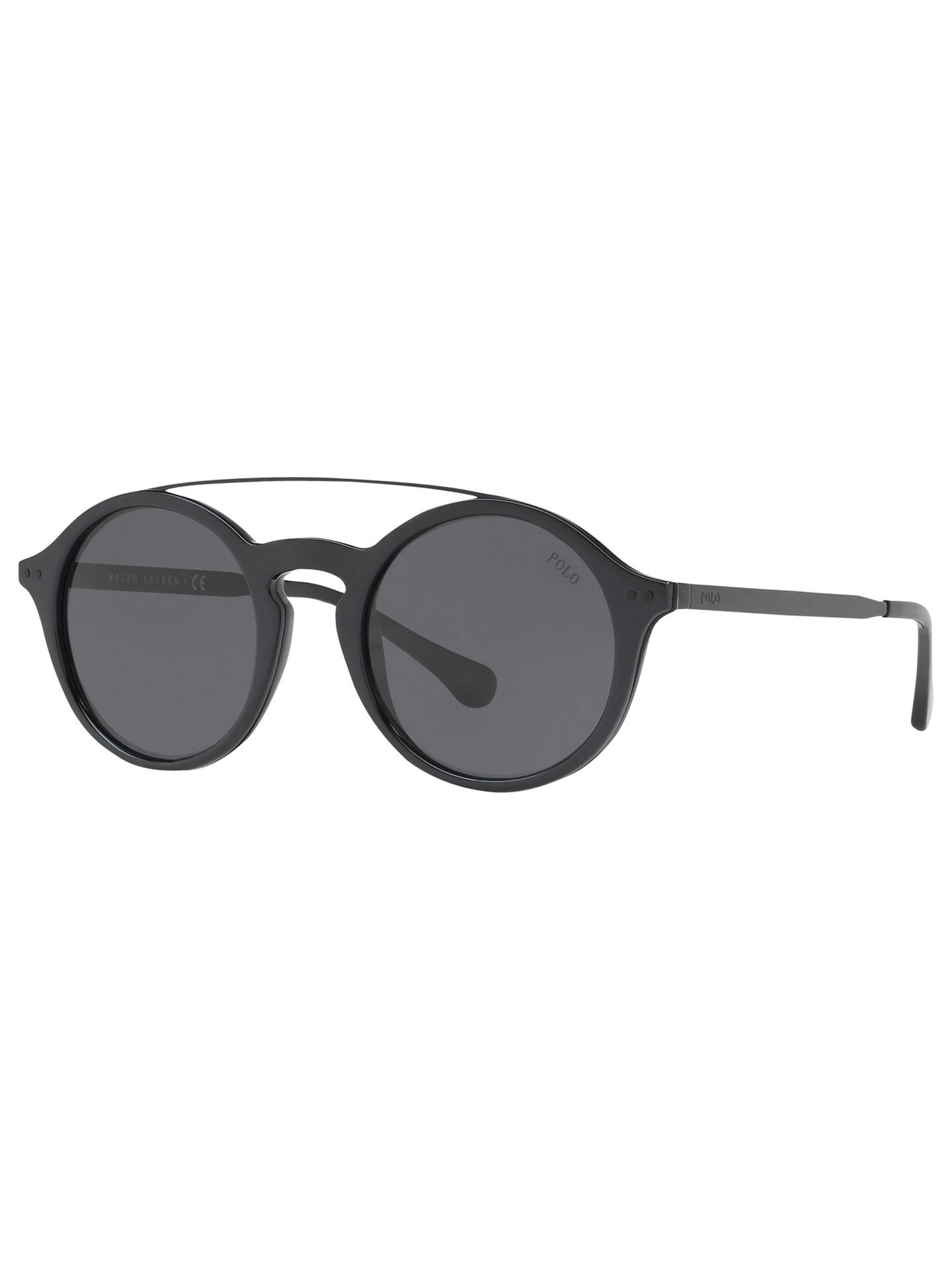 e5655061c64 Polo Ralph Lauren PH4122 Round Sunglasses at John Lewis   Partners