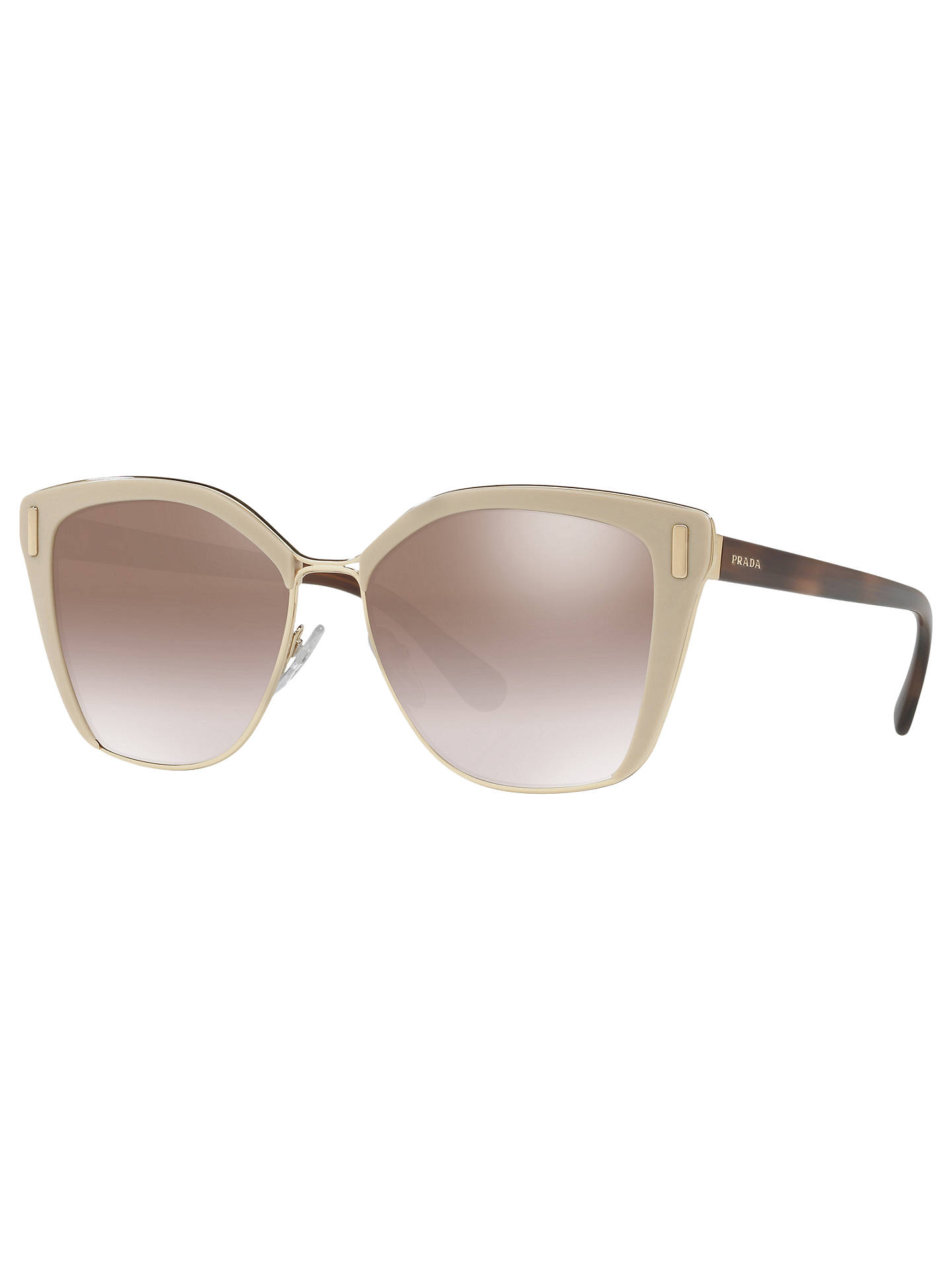 be6485baba0e Prada PR 56TS Square Sunglasses at John Lewis   Partners
