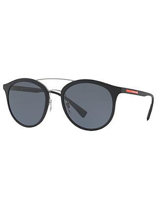 89acf0d0ad87a Prada Linea Rossa PS 04RS Polarised Oval Sunglasses