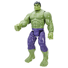 "Buy Marvel Titan Hero Series 12"" Hulk Action Figure Online at johnlewis.com"