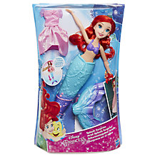Buy Disney Princess Ariel Splash Surprise Doll Online at johnlewis.com