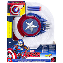 Buy Marvel Captain America Blaster Reveal Shield Online at johnlewis.com