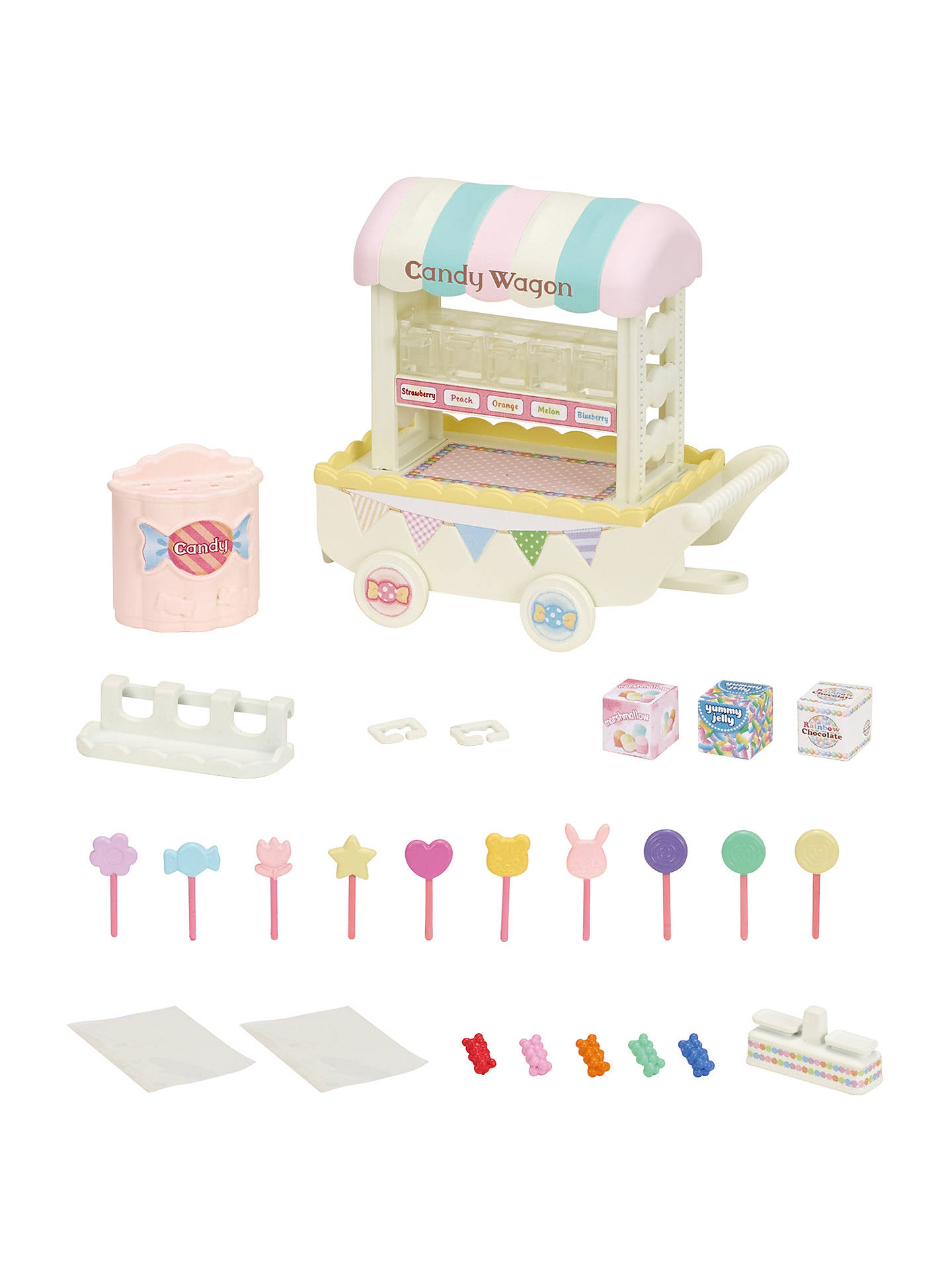 Buy Sylvanian Families Candy Wagon Set Online at johnlewis.com
