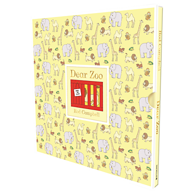 Dear Zoo Children's Book with Deluxe Slipcase