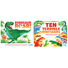 Buy Dinosaur Roar/Ten Dinosaurs Children's Books Online at johnlewis.com