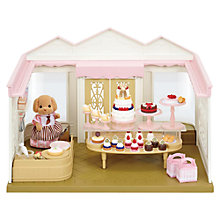 Buy Sylvanian Families Cake Shop Set Online at johnlewis.com