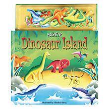 Buy Magnetic Dinosaur Island Children's Book Online at johnlewis.com