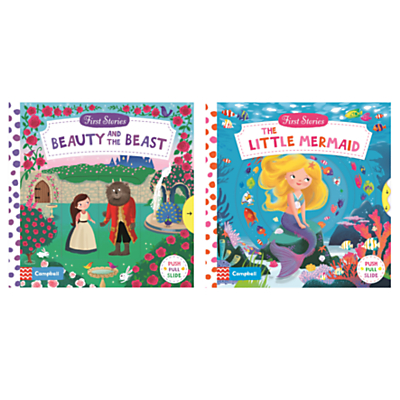 Image of Beauty and the Beast/The Little Mermaid Children's Books