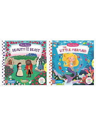 Beauty and the Beast/The Little Mermaid Children's Books