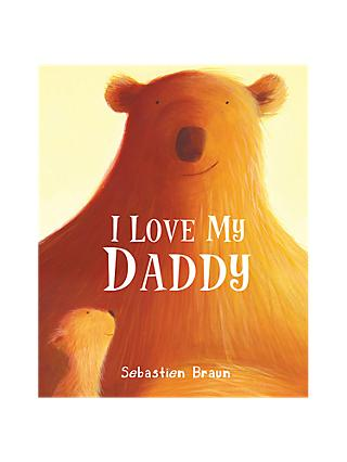 I Love My Daddy Children's Book