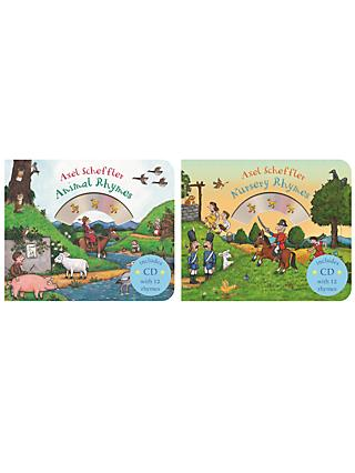 Nursery Rhymes/Animal Rhymes Children's Books with CDs