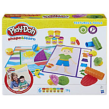 Buy Play-Doh Shape & Learn Textures & Tools Set Online at johnlewis.com