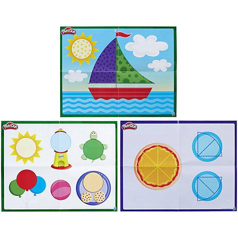 buy play doh shape learn textures tools set john lewis. Black Bedroom Furniture Sets. Home Design Ideas