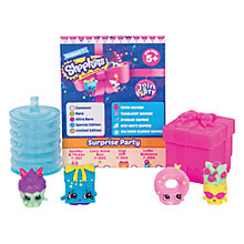 Buy Shopkins Series 7 Party Character, Pack of 5 Online at johnlewis.com
