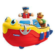 Buy WOW Toys Wind-up Tommy Tug Boat Bath Toy Online at johnlewis.com