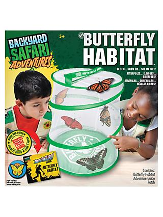 Backyard Safari Adventures Butterfly Habitat