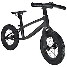 Buy Kiddimoto The Karbon Balance Bike, 2-5 years, Matte Black Online at johnlewis.com